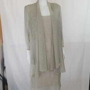 Champagne Jacket / Mock Dress